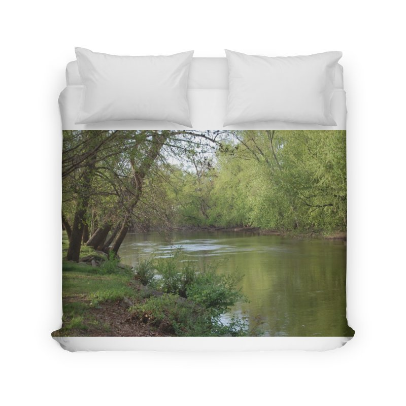 River of Memories Home Duvet by Ralph's Creations