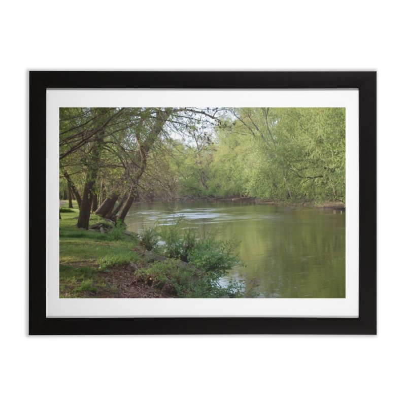 River of Memories Home Framed Fine Art Print by Ralph's Creations
