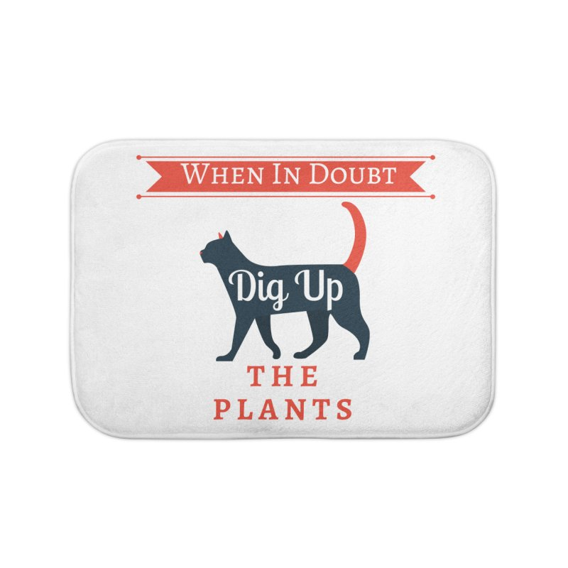 WID Dig Up Plants Home Bath Mat by The Outrider Outpost