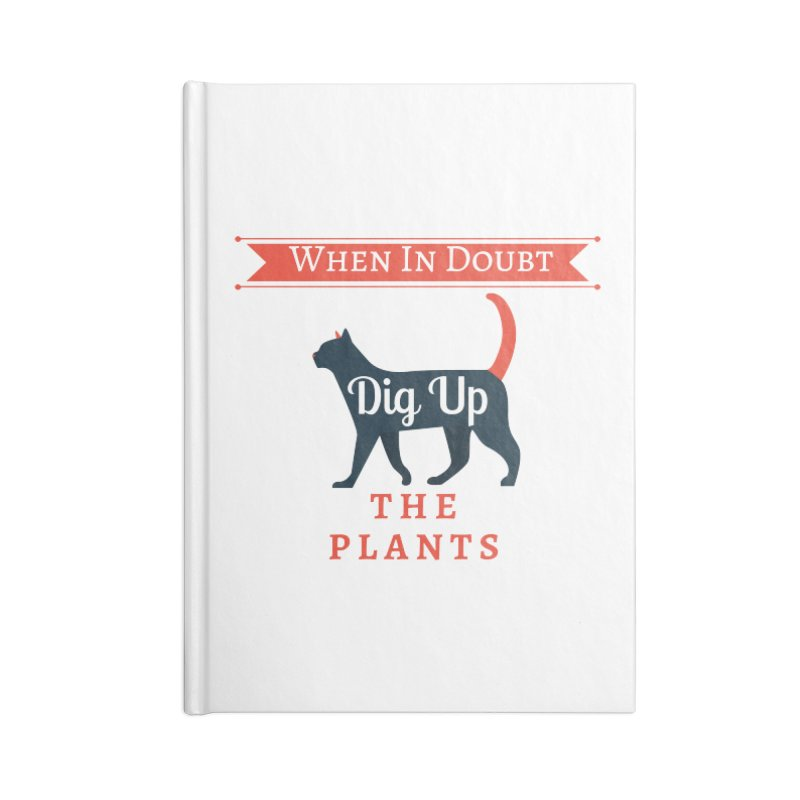 WID Dig Up Plants Accessories Notebook by The Outrider Outpost