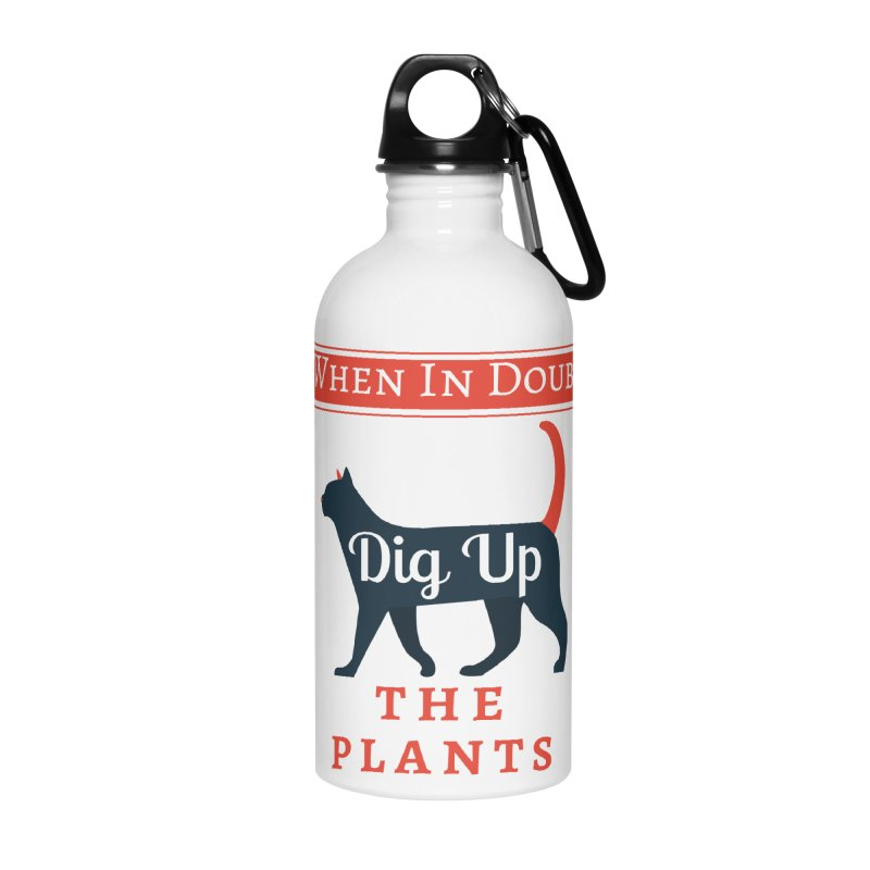 WID Dig Up Plants Accessories Water Bottle by The Outrider Outpost