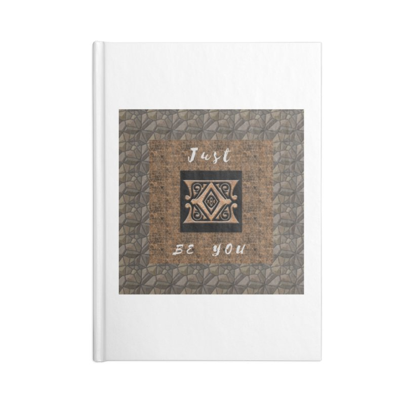 Just Be You Gold Diamond Accessories Notebook by The Outrider Outpost