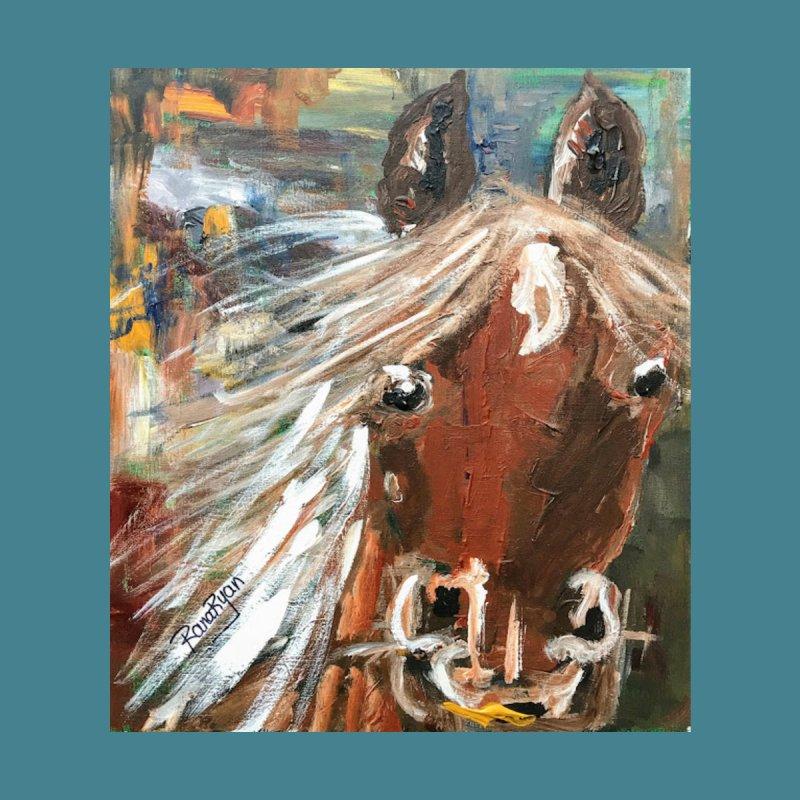 Bean, my beautiful horse By Artist Rana Ryan by Rana Ryan's Artist Shop