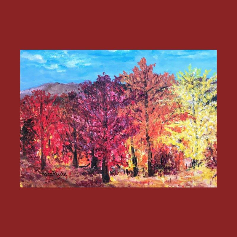 Walk with me into Fall by Artist Rana Ryan Home Fine Art Print by Rana Ryan's Artist Shop