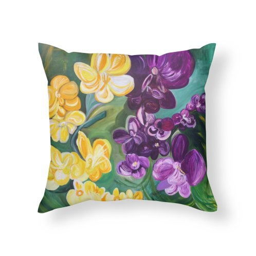 image for Yellow and Purple Orchids by Artist Rana Ryan