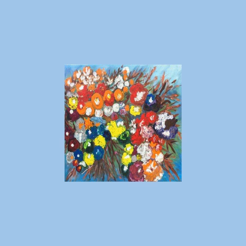 Spirited Flowers by Artist Rana Ryan by Rana Ryan's Artist Shop
