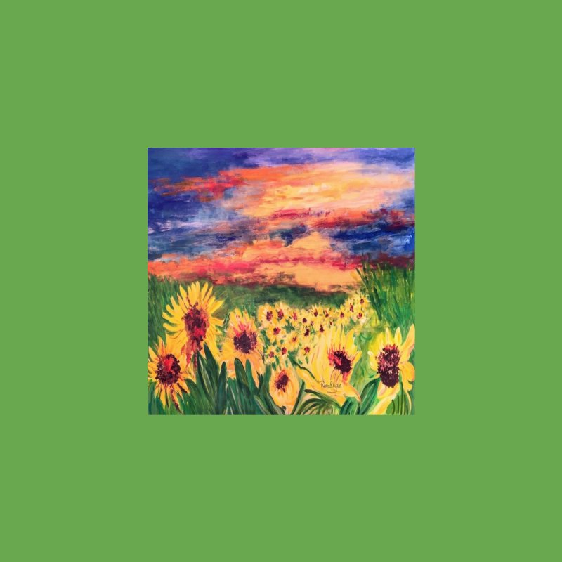 Sunflower Field by Rana Ryan's Artist Shop