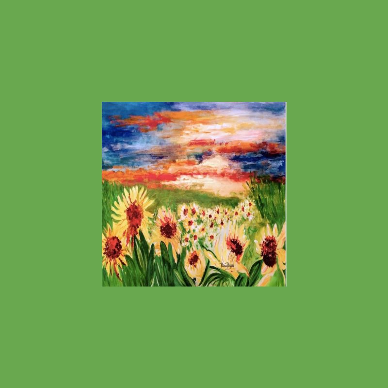 Sunflower Fields by Artist Rana Ryan by Rana Ryan's Artist Shop