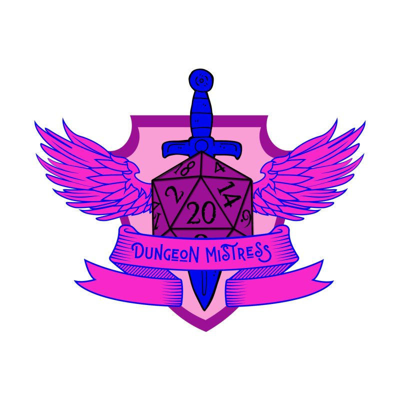 Dungeons Mistress: Bi Pride by RandomEncounterProductions's Artist Shop