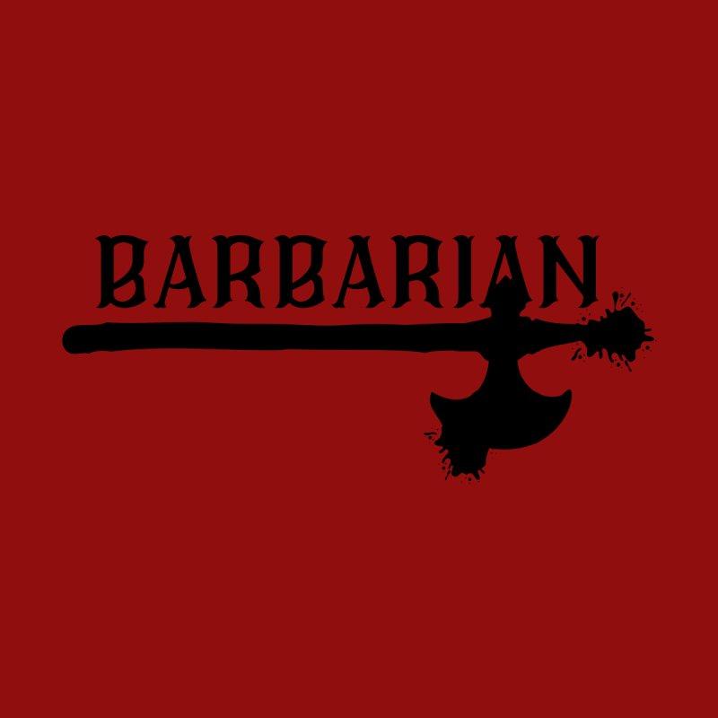 Barbarian Men's T-Shirt by RandomEncounterProductions's Artist Shop