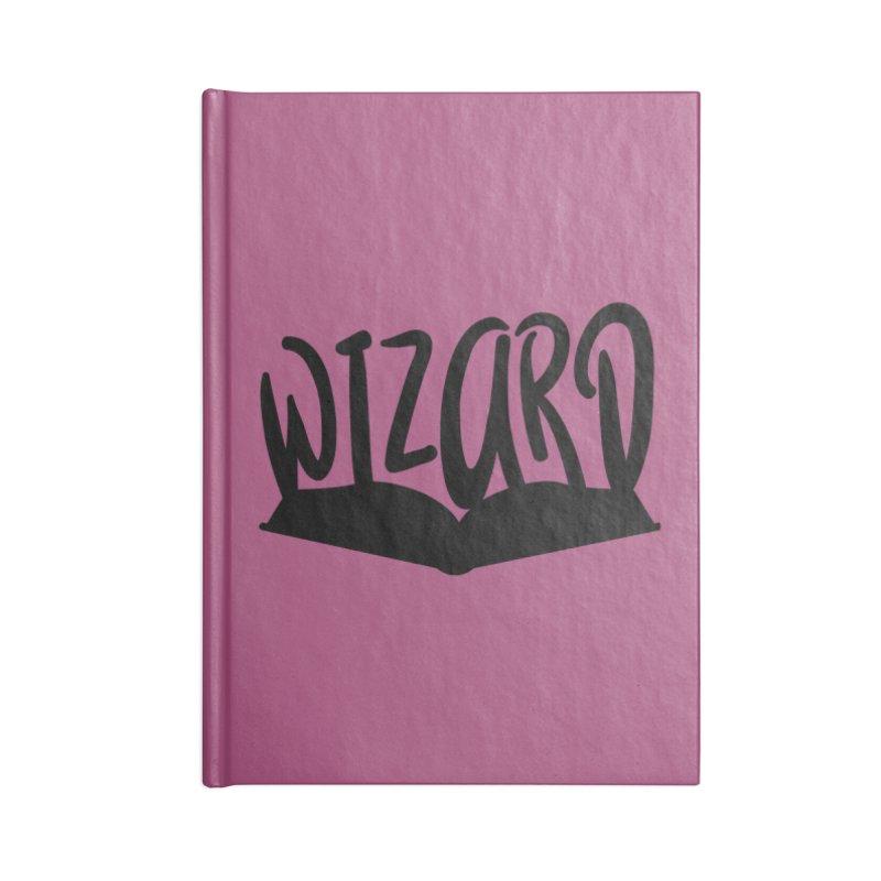 Wizard Accessories Lined Journal Notebook by RandomEncounterProductions's Artist Shop