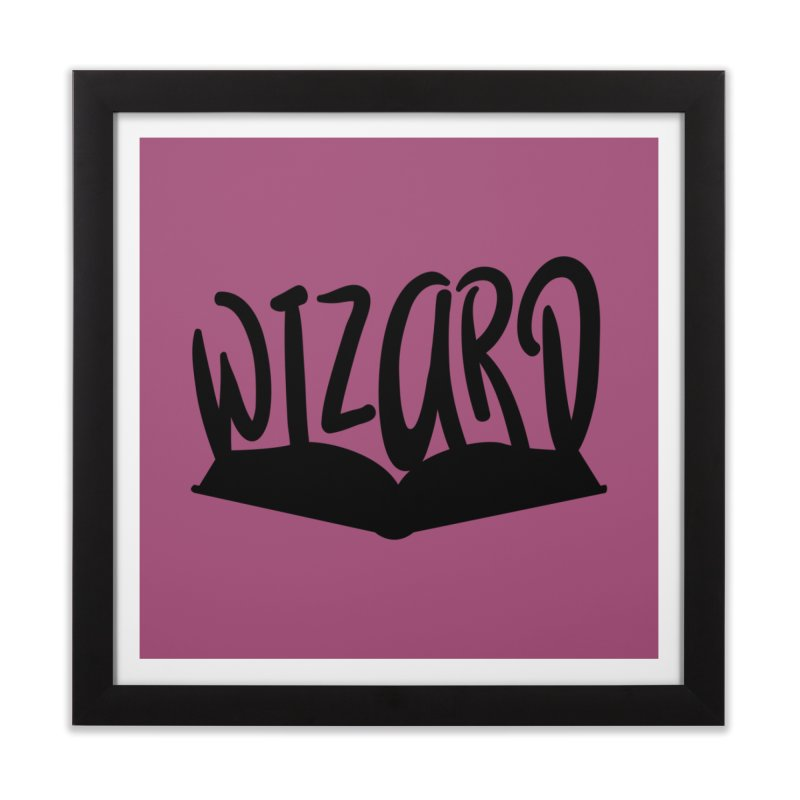 Wizard Home Framed Fine Art Print by RandomEncounterProductions's Artist Shop