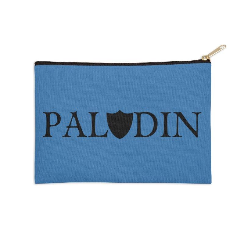 Paladin Accessories Zip Pouch by RandomEncounterProductions's Artist Shop
