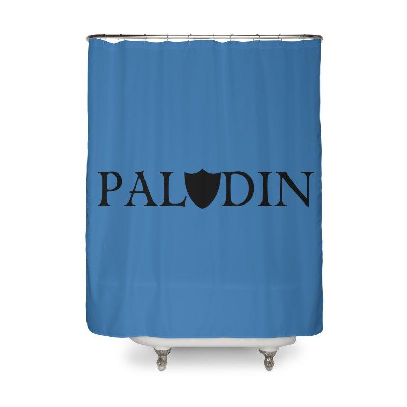 Paladin Home Shower Curtain by RandomEncounterProductions's Artist Shop