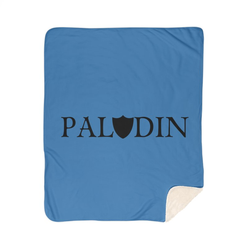 Paladin Home Sherpa Blanket Blanket by RandomEncounterProductions's Artist Shop