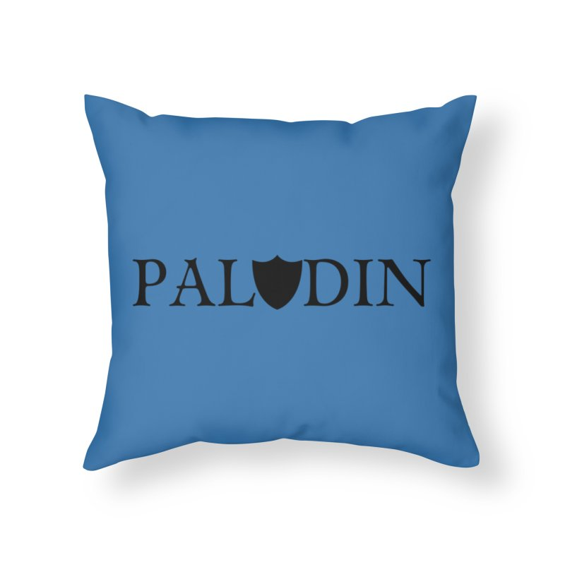 Paladin Home Throw Pillow by RandomEncounterProductions's Artist Shop