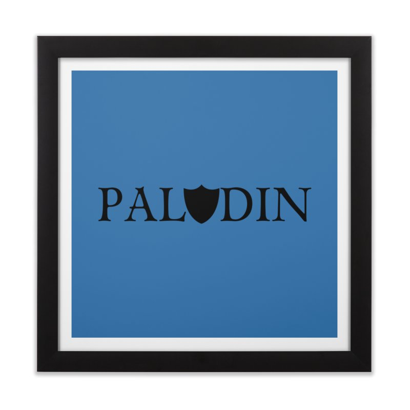 Paladin Home Framed Fine Art Print by RandomEncounterProductions's Artist Shop