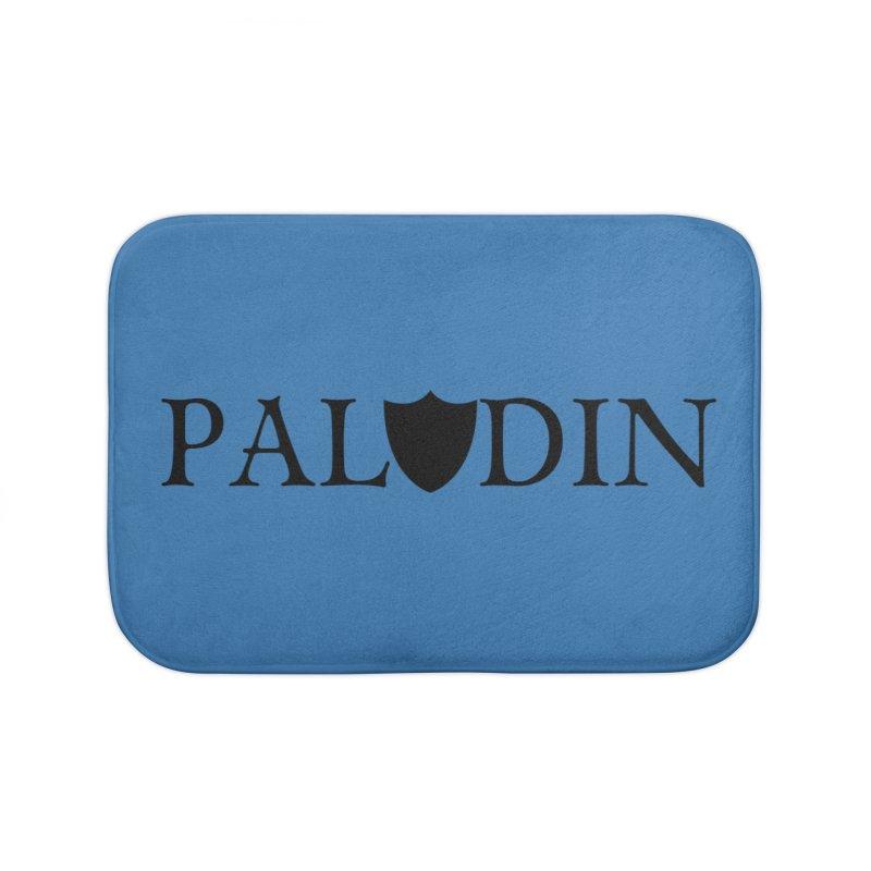 Paladin Home Bath Mat by RandomEncounterProductions's Artist Shop