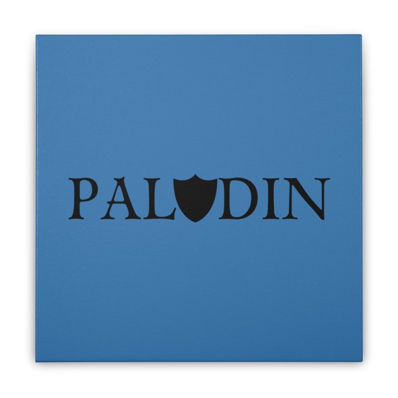 Paladin Home Stretched Canvas by RandomEncounterProductions's Artist Shop