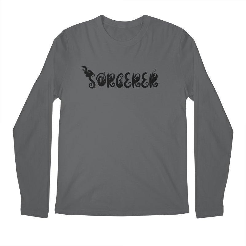 Sorcerer Men's Longsleeve T-Shirt by RandomEncounterProductions's Artist Shop