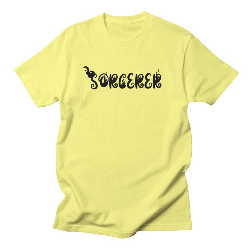 Sorcerer Men's T-Shirt by RandomEncounterProductions's Artist Shop