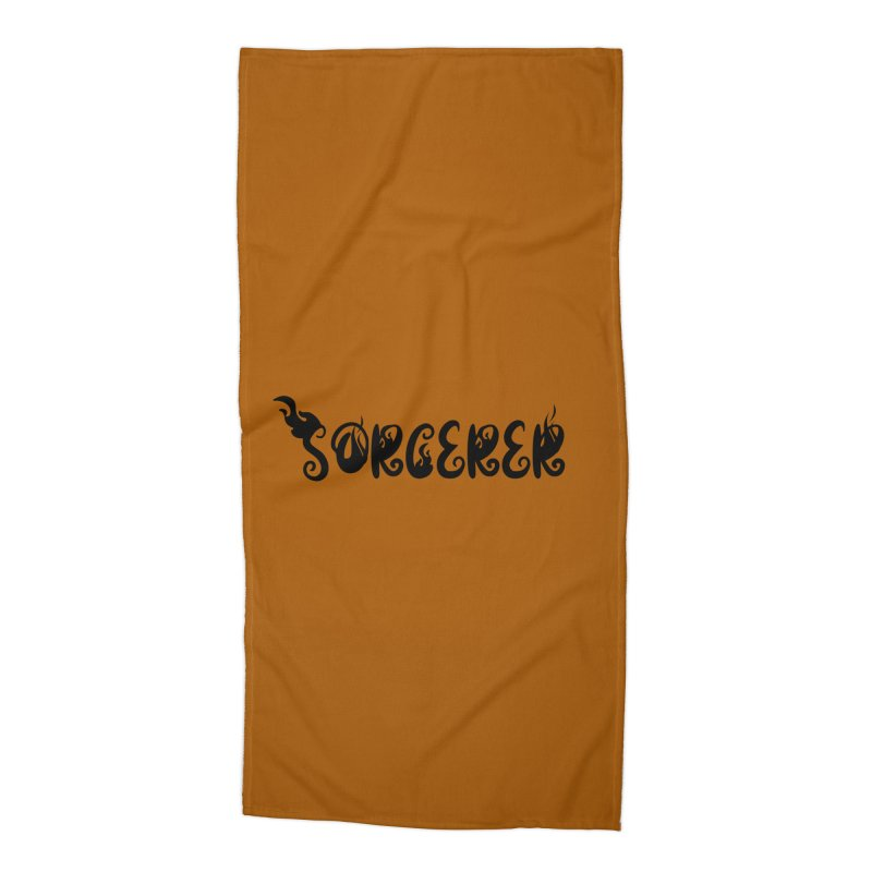 Sorcerer Accessories Beach Towel by RandomEncounterProductions's Artist Shop