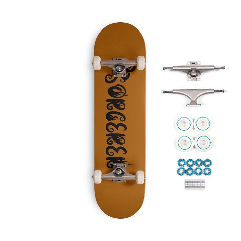 Sorcerer Accessories Complete - Basic Skateboard by RandomEncounterProductions's Artist Shop