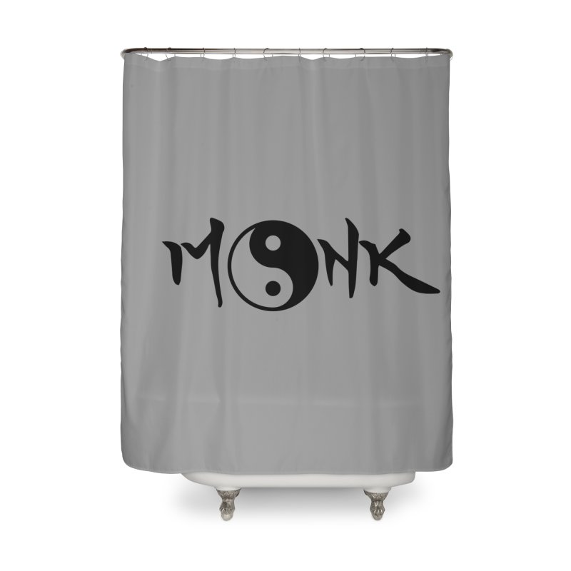 Monk Home Shower Curtain by RandomEncounterProductions's Artist Shop