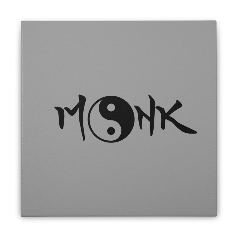 Monk Home Stretched Canvas by RandomEncounterProductions's Artist Shop