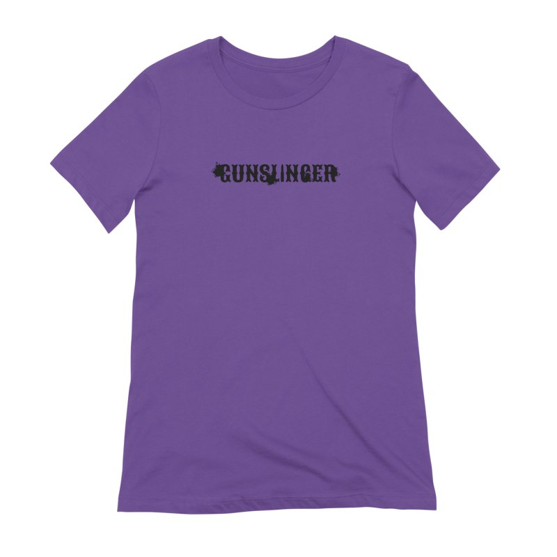 Gunslinger Women's Extra Soft T-Shirt by RandomEncounterProductions's Artist Shop