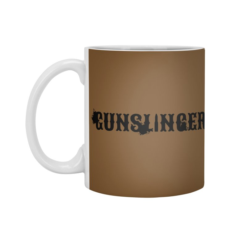 Gunslinger Accessories Standard Mug by RandomEncounterProductions's Artist Shop