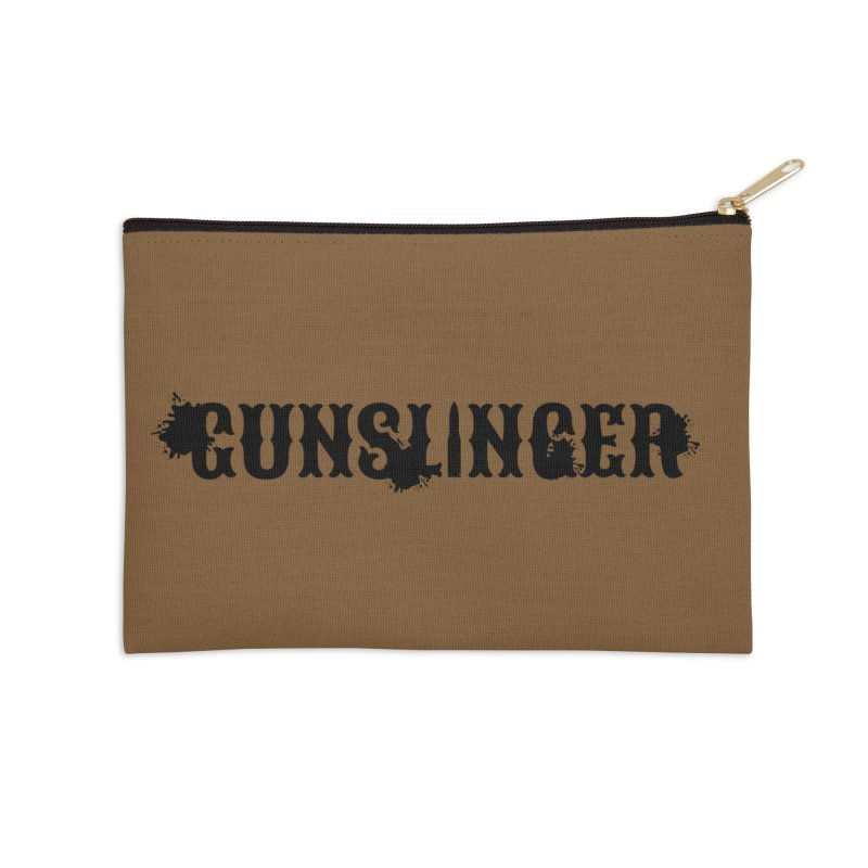 Gunslinger Accessories Zip Pouch by RandomEncounterProductions's Artist Shop