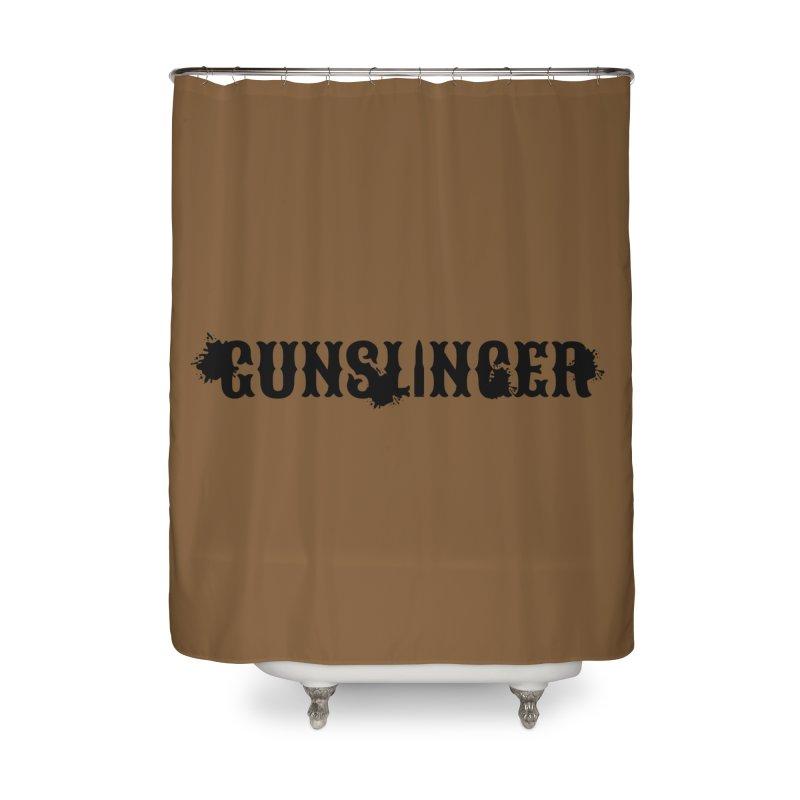Gunslinger Home Shower Curtain by RandomEncounterProductions's Artist Shop