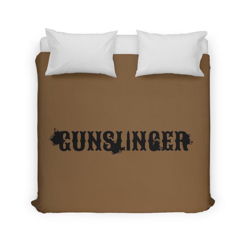 Gunslinger Home Duvet by RandomEncounterProductions's Artist Shop