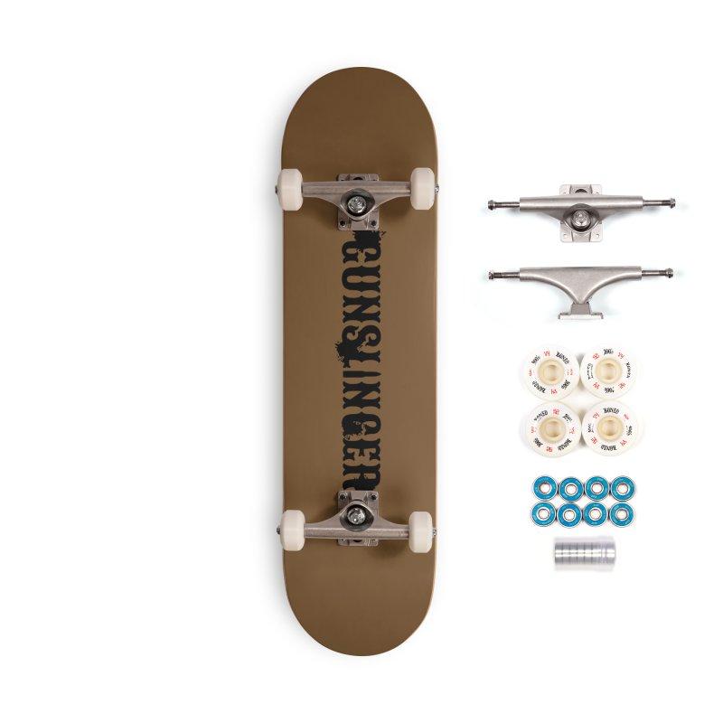 Gunslinger Accessories Complete - Premium Skateboard by RandomEncounterProductions's Artist Shop