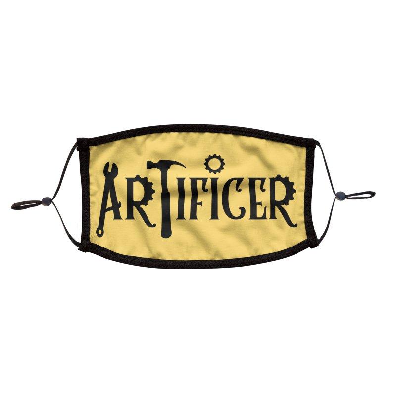 Artificer Accessories Face Mask by RandomEncounterProductions's Artist Shop
