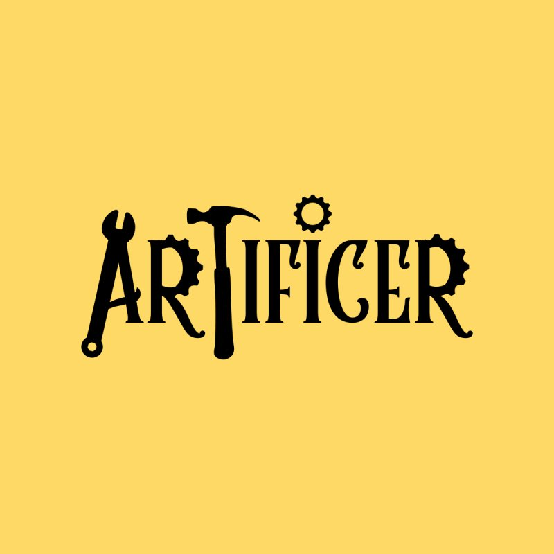 Artificer Accessories Zip Pouch by RandomEncounterProductions's Artist Shop
