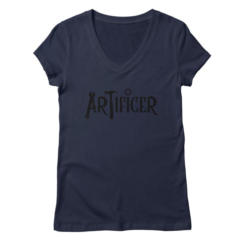 Artificer Women's Regular V-Neck by RandomEncounterProductions's Artist Shop