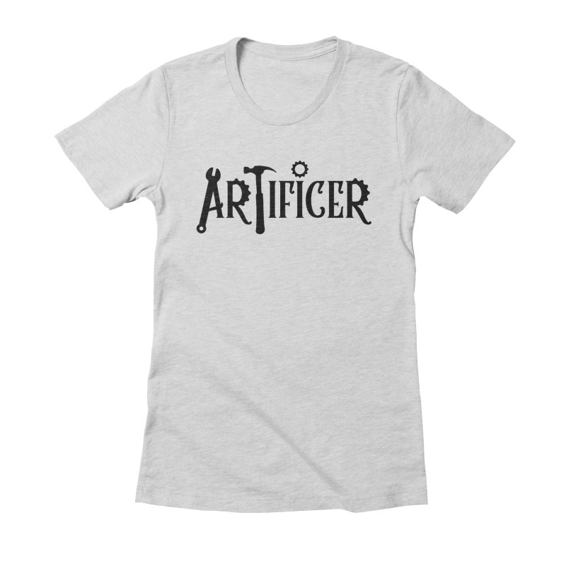 Artificer Women's Fitted T-Shirt by RandomEncounterProductions's Artist Shop