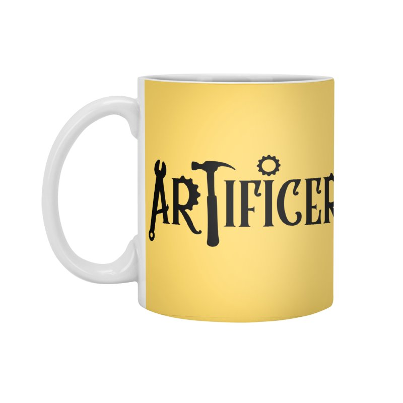Artificer Accessories Standard Mug by RandomEncounterProductions's Artist Shop