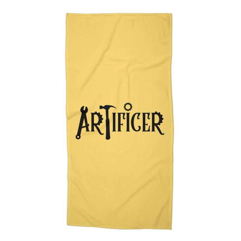 Artificer Accessories Beach Towel by RandomEncounterProductions's Artist Shop