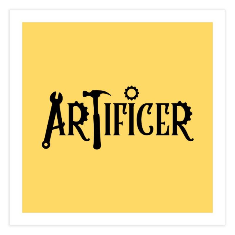 Artificer Home Fine Art Print by RandomEncounterProductions's Artist Shop