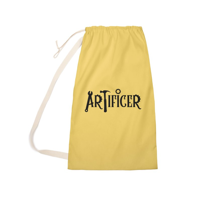 Artificer Accessories Laundry Bag Bag by RandomEncounterProductions's Artist Shop