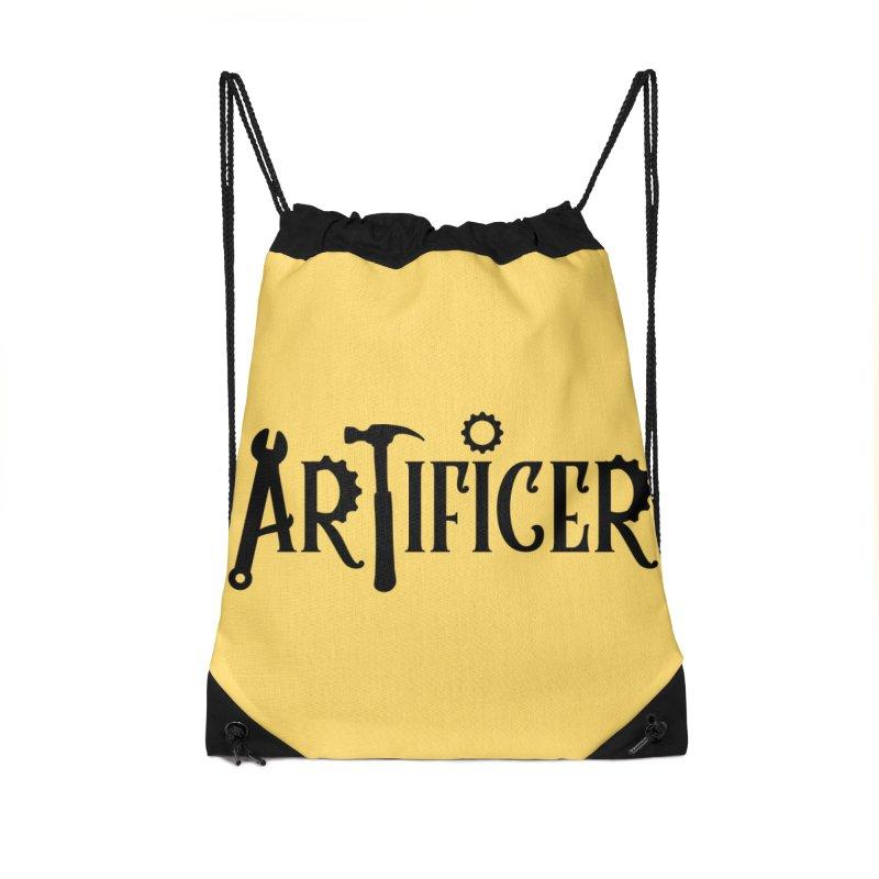 Artificer Accessories Drawstring Bag Bag by RandomEncounterProductions's Artist Shop
