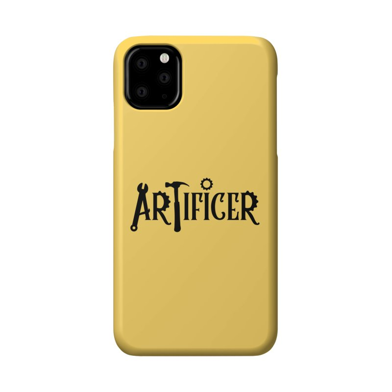 Artificer Accessories Phone Case by RandomEncounterProductions's Artist Shop
