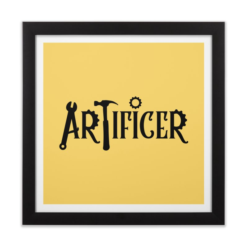 Artificer Home Framed Fine Art Print by RandomEncounterProductions's Artist Shop