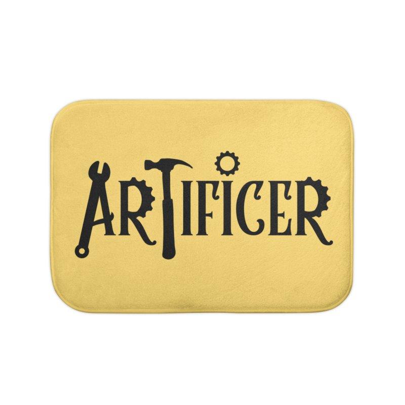 Artificer Home Bath Mat by RandomEncounterProductions's Artist Shop