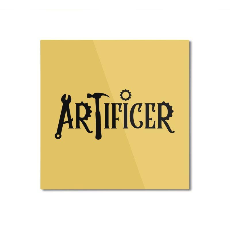 Artificer Home Mounted Aluminum Print by RandomEncounterProductions's Artist Shop