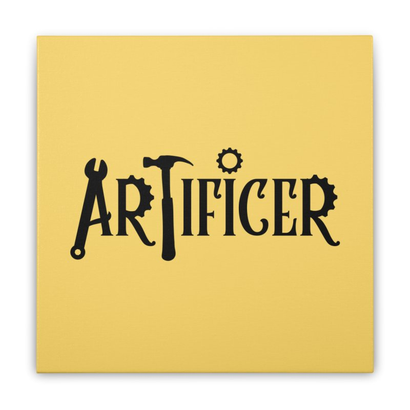 Artificer Home Stretched Canvas by RandomEncounterProductions's Artist Shop