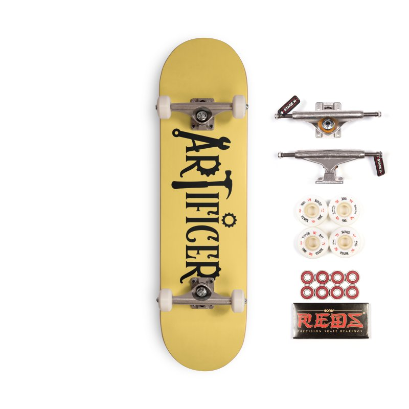Artificer Accessories Complete - Pro Skateboard by RandomEncounterProductions's Artist Shop